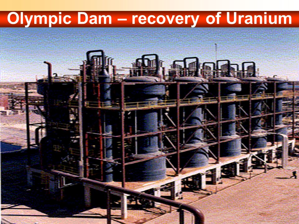 Olympic Dam – recovery of Uranium by BPcs