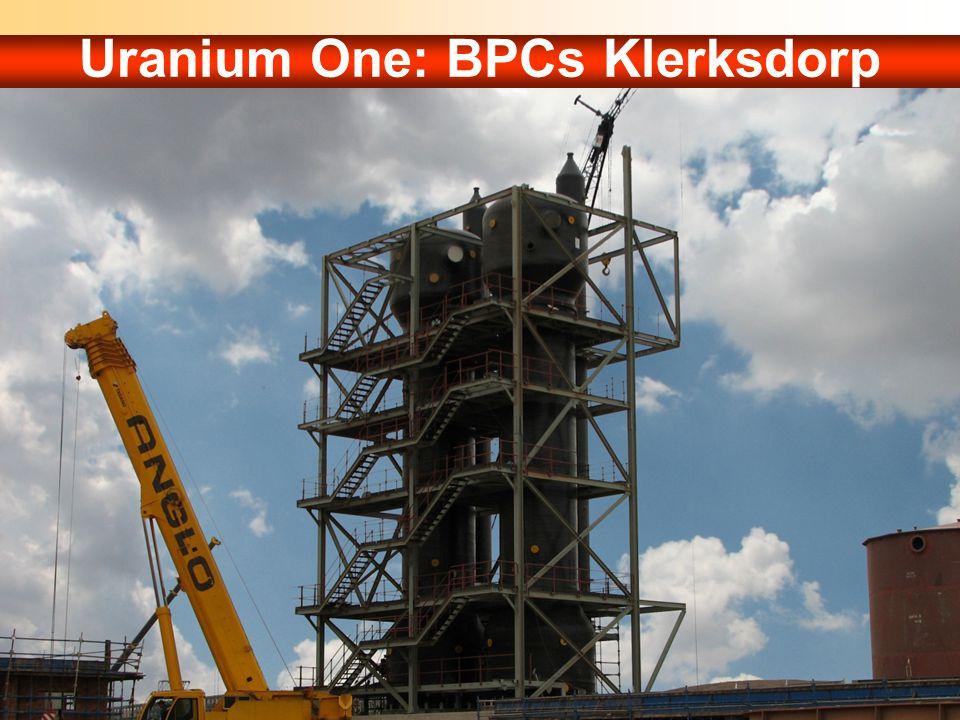 Uranium One: BPCs Klerksdorp
