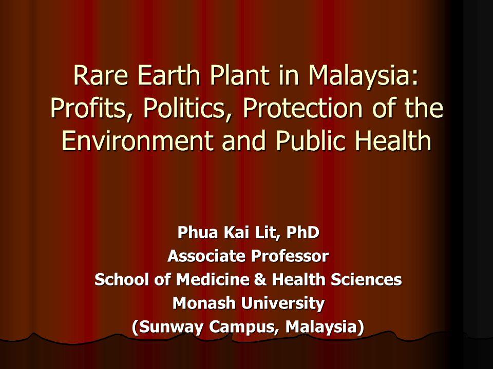 School of Medicine & Health Sciences (Sunway Campus, Malaysia)