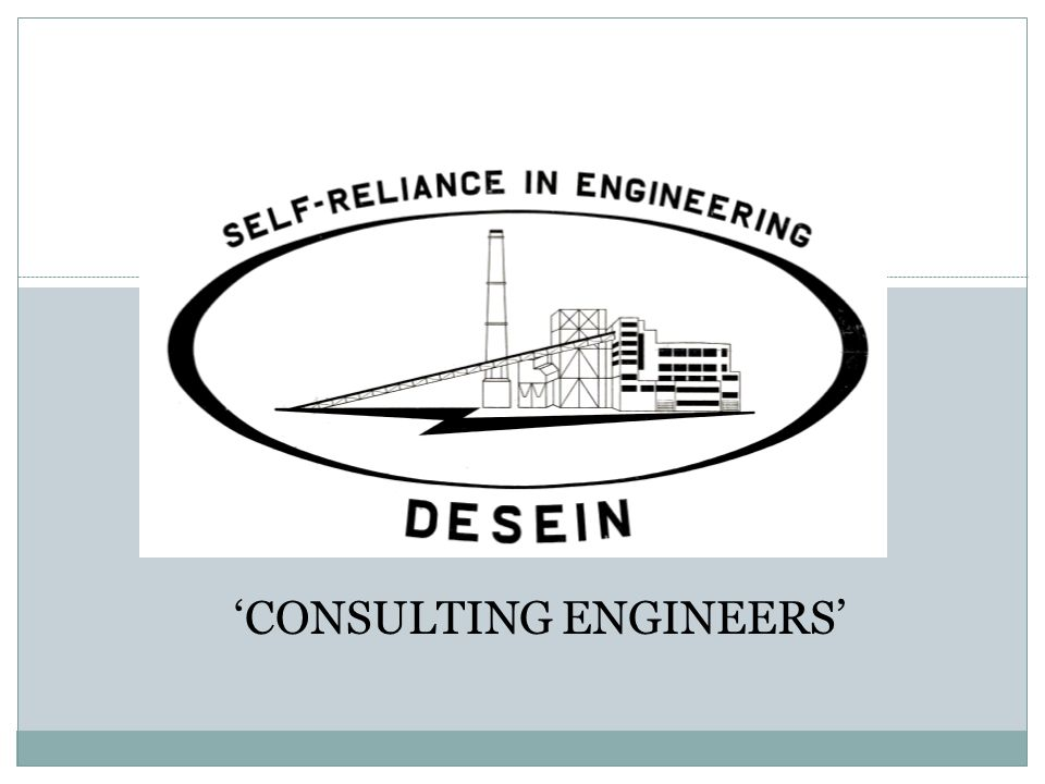 'CONSULTING ENGINEERS'