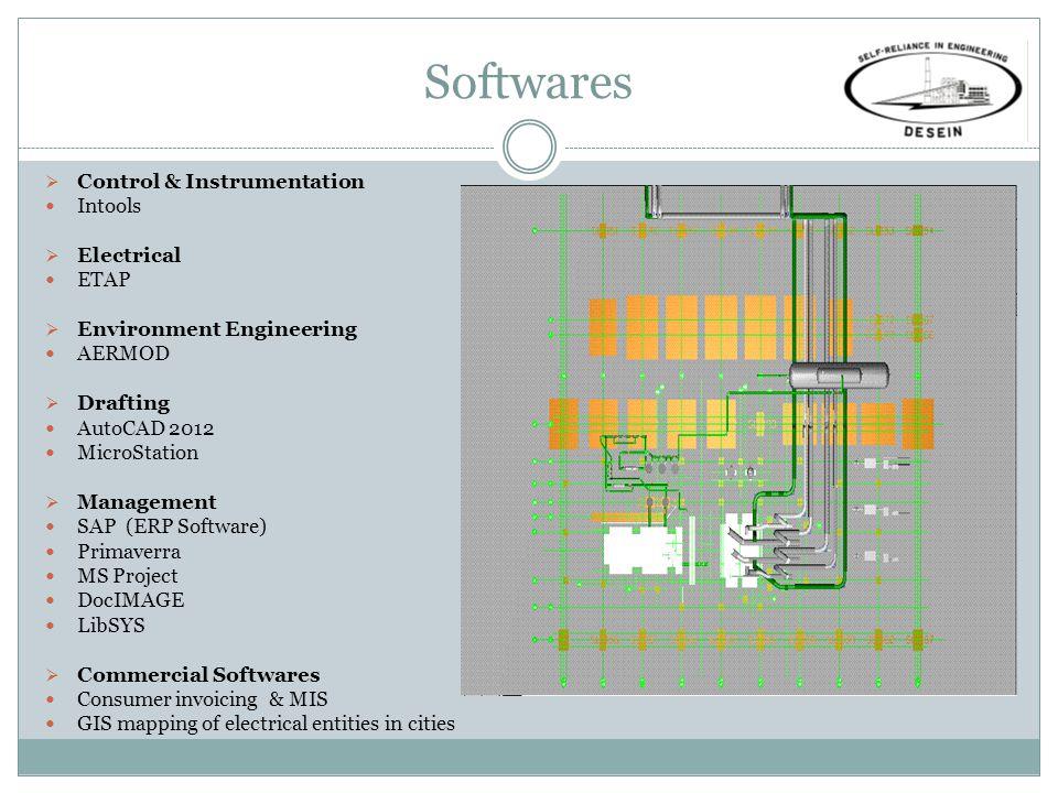 Softwares Control & Instrumentation Intools Electrical ETAP