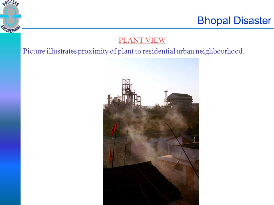 Bhopal Disaster PLANT VIEW