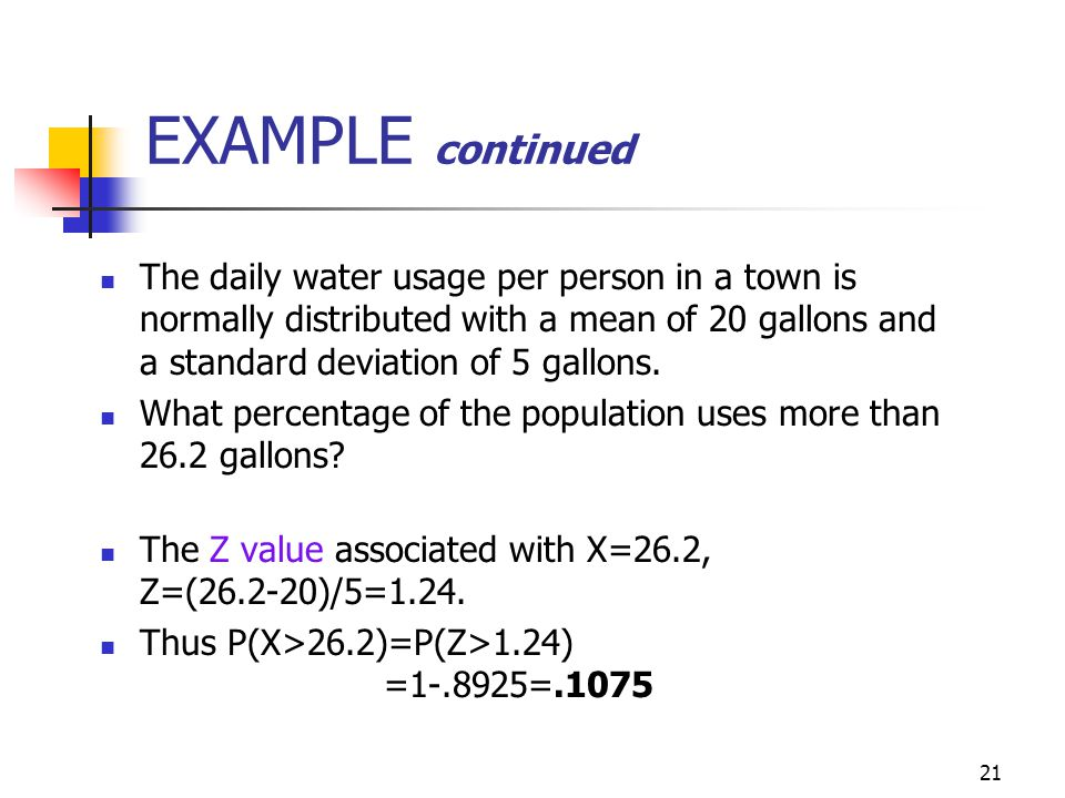Math 10 - Chapter 5 Slides 7-14. EXAMPLE continued.