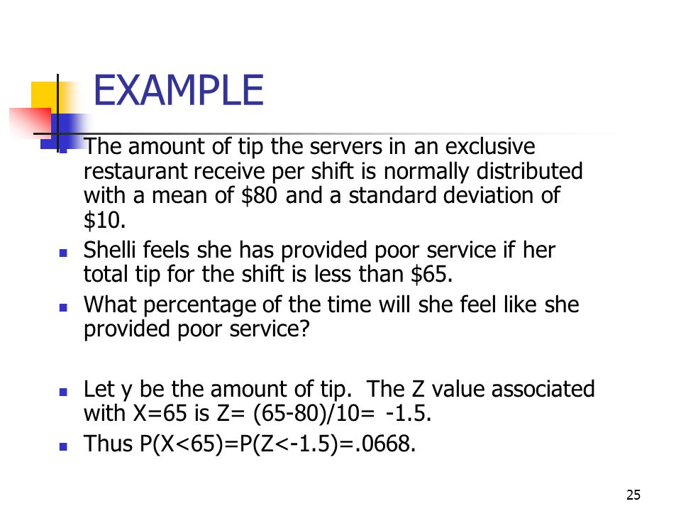 Math 10 - Chapter 5 Slides 7-17. EXAMPLE.