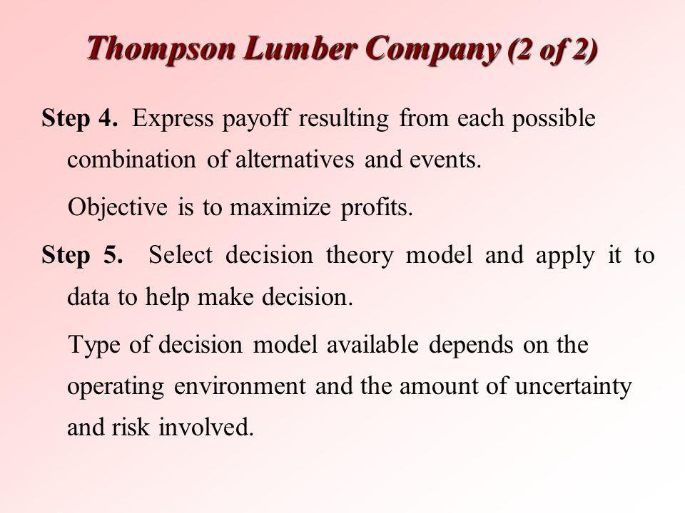 Thompson Lumber Company (2 of 2)