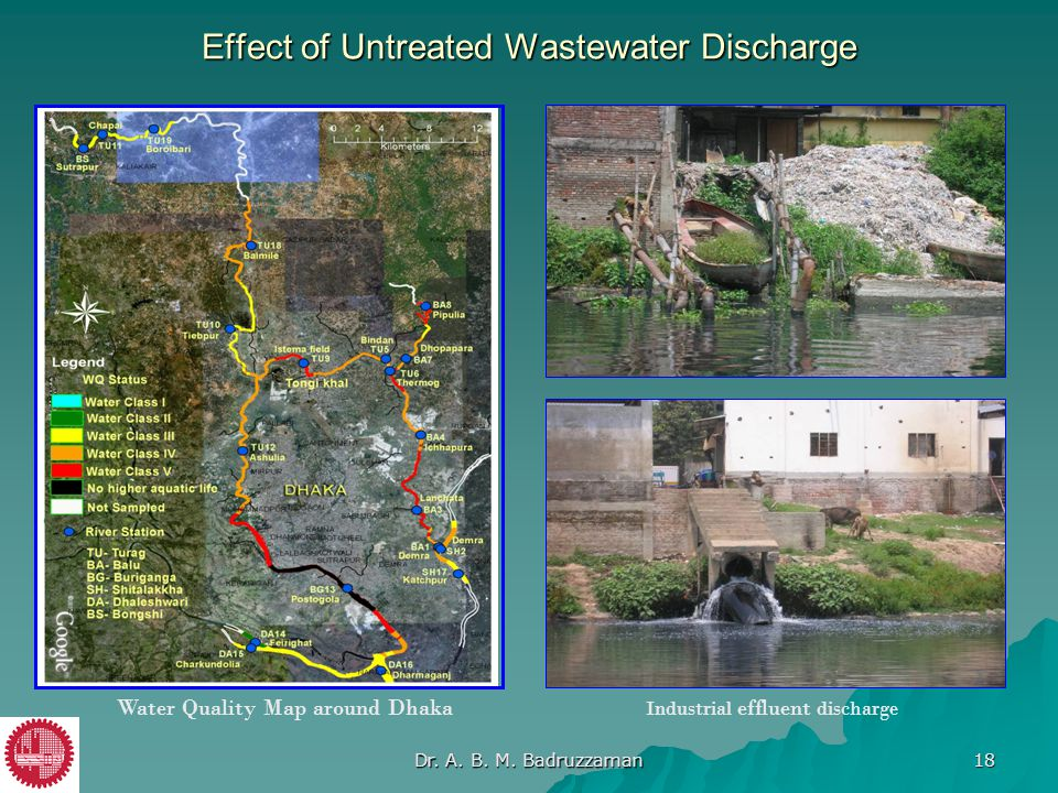 Effect of Untreated Wastewater Discharge