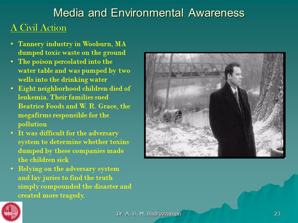 Media and Environmental Awareness