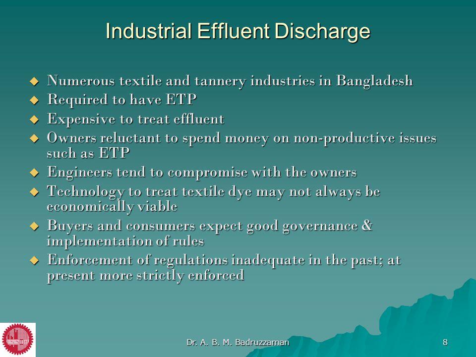 Industrial Effluent Discharge