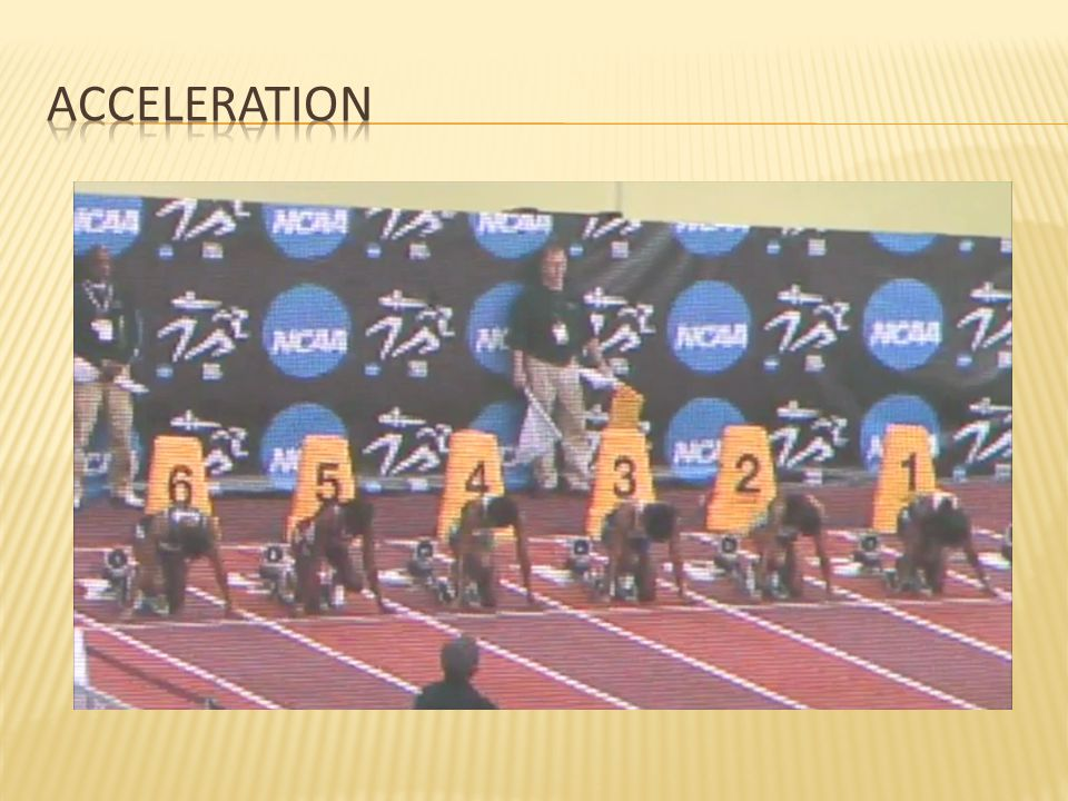 Acceleration NCAA Indoor Championships, 1st heat of prelims