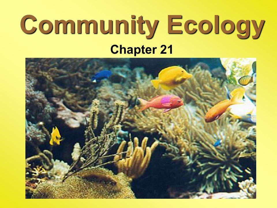 Community Ecology Chapter 21