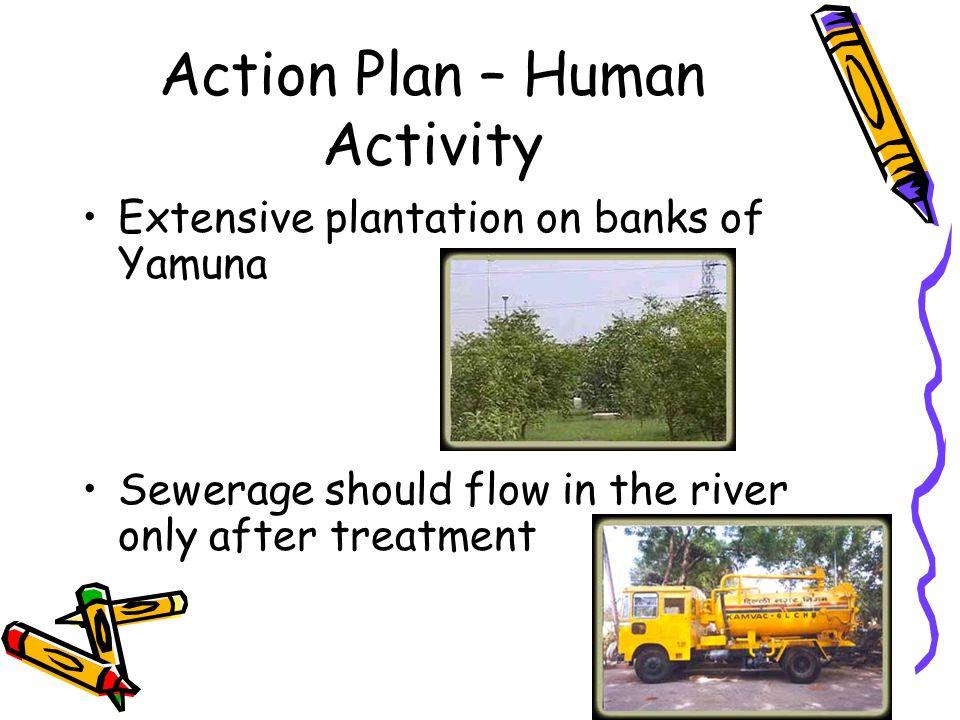Action Plan – Human Activity