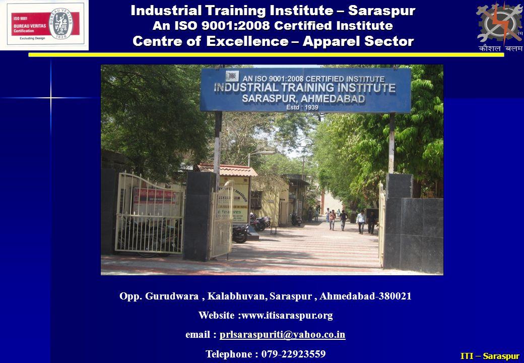Industrial Training Institute – Saraspur