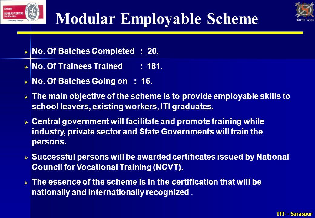 Modular Employable Scheme