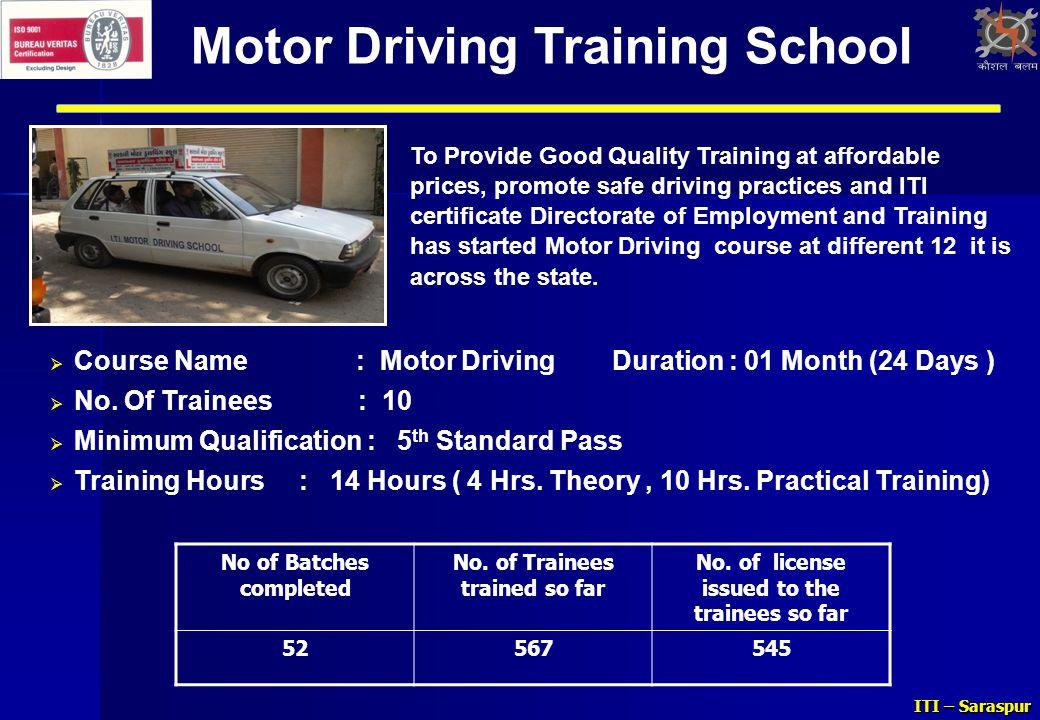 Motor Driving Training School