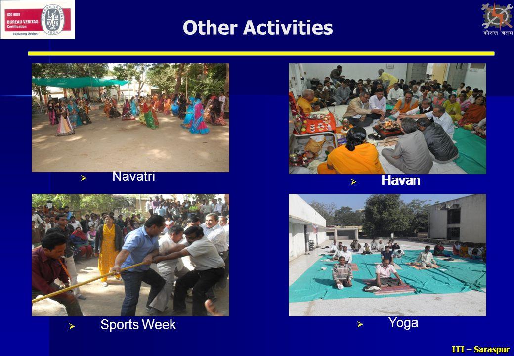 Other Activities Navatri Havan Havan Sports Week Yoga
