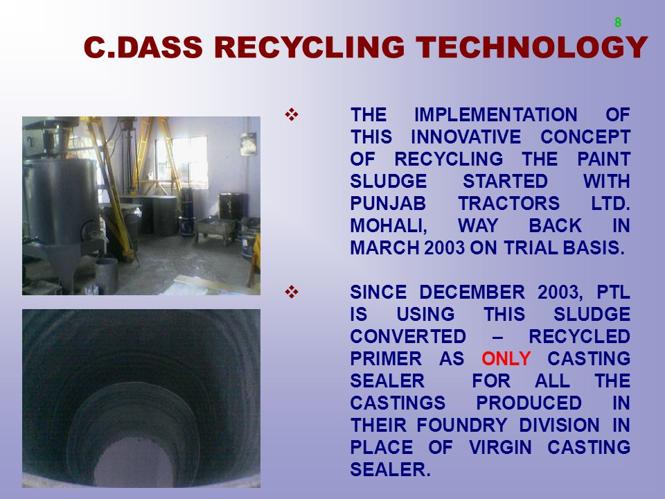 C.DASS RECYCLING TECHNOLOGY