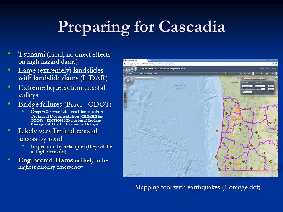 Preparing for Cascadia