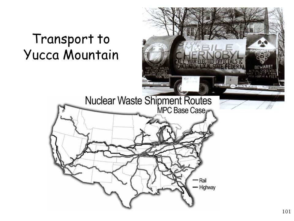 Transport to Yucca Mountain