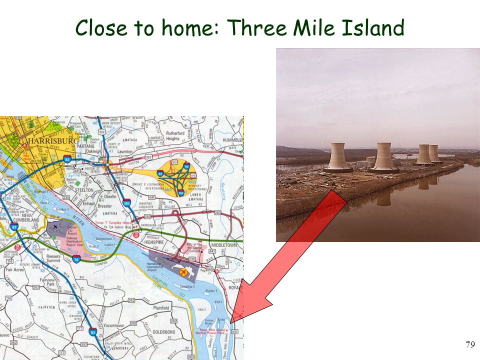 Close to home: Three Mile Island