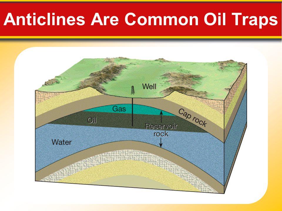 Anticlines Are Common Oil Traps