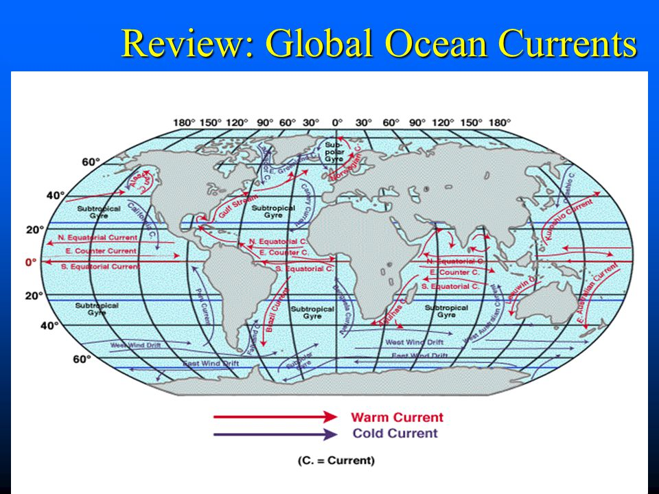 Review: Global Ocean Currents