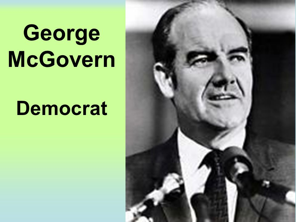 George McGovern Democrat