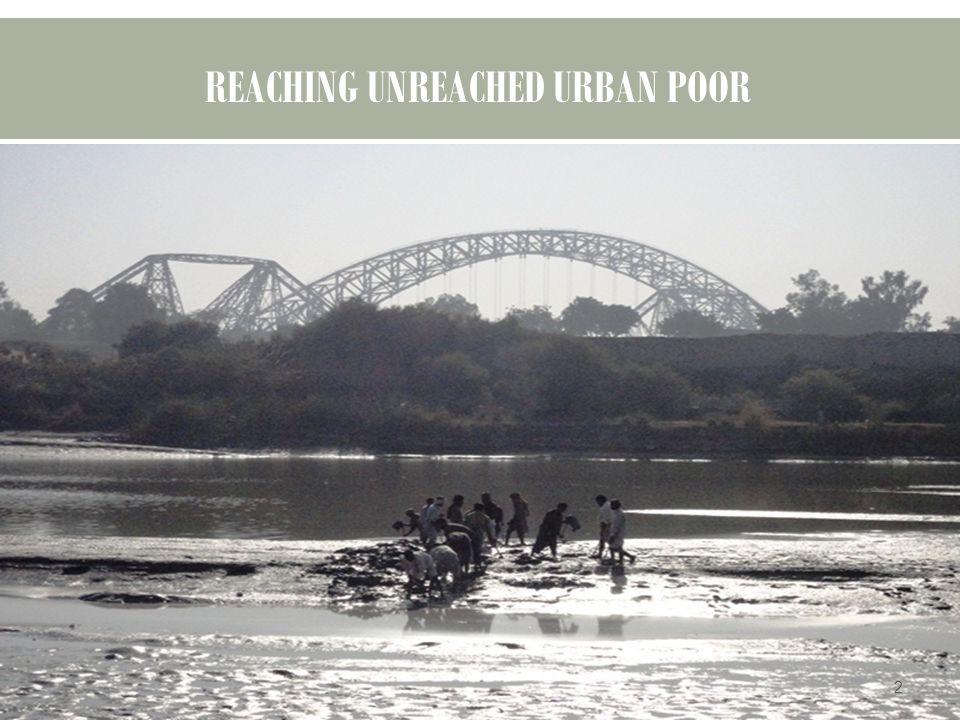REACHING UNREACHED URBAN POOR