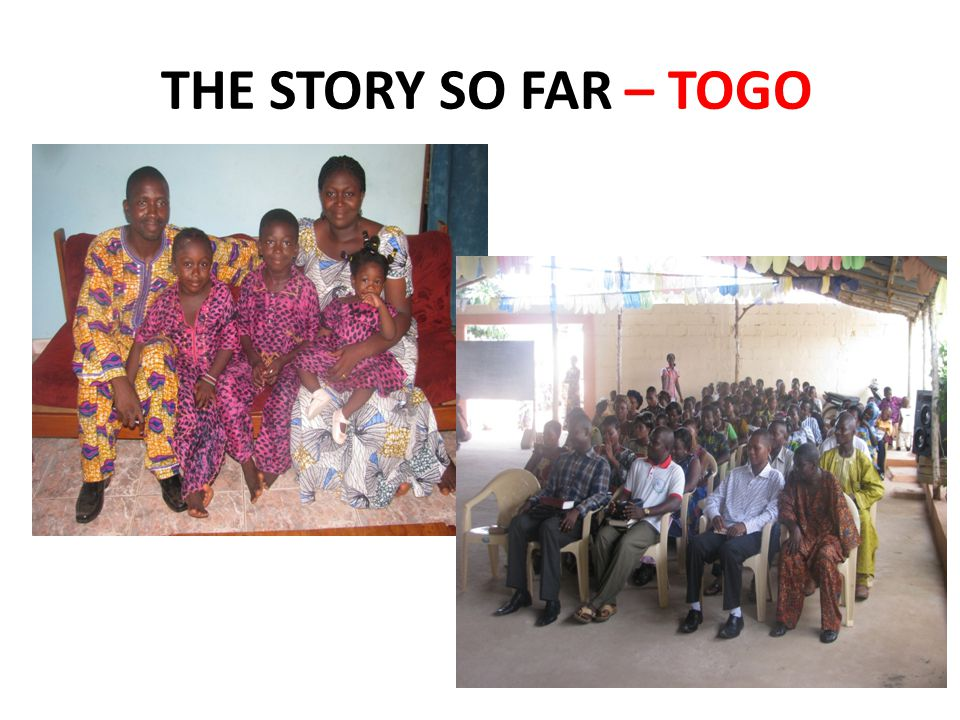 THE STORY SO FAR – TOGO