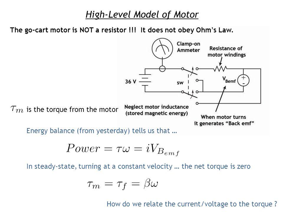 High-Level Model of Motor