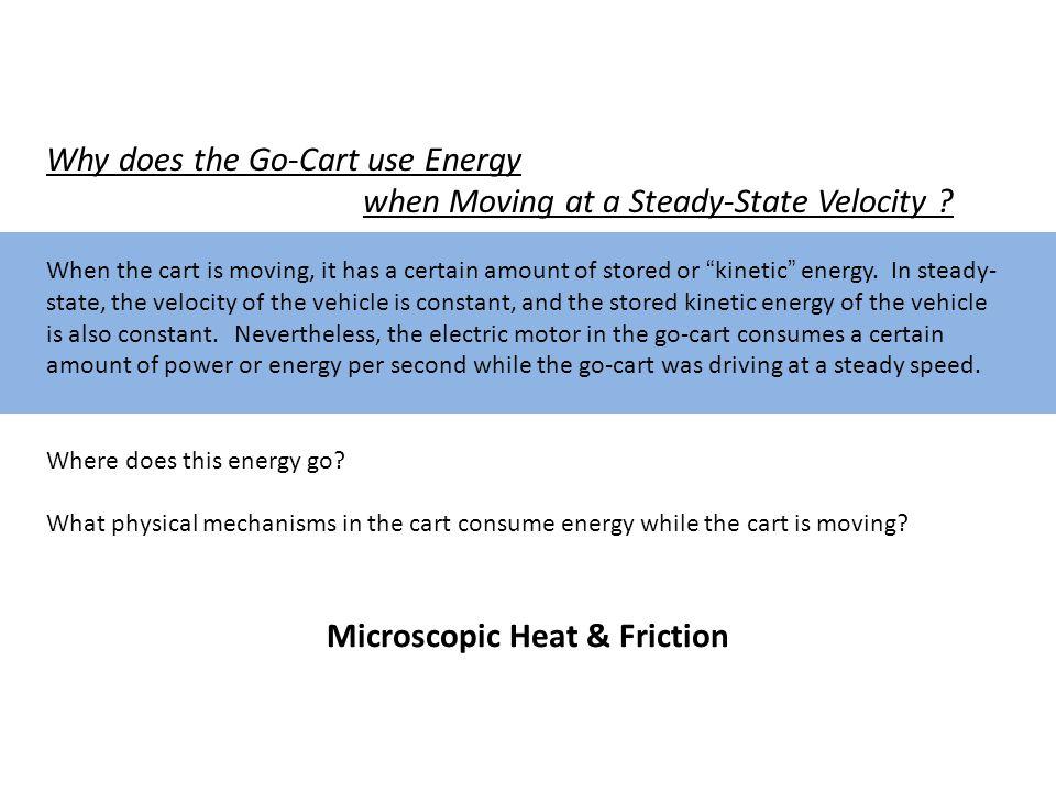 Microscopic Heat & Friction
