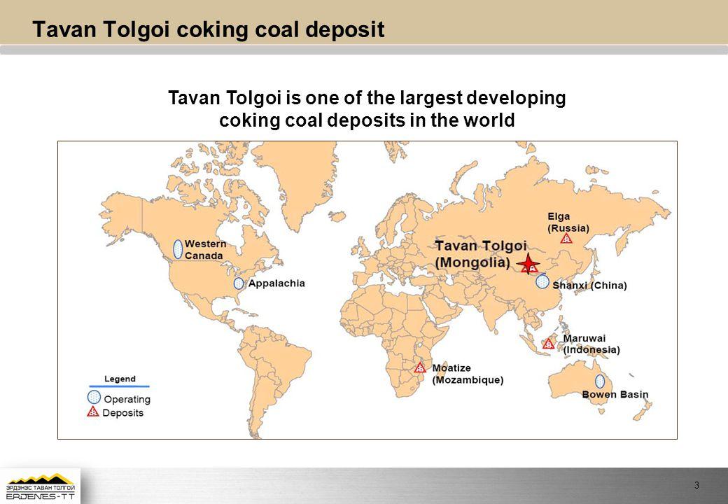 Tavan Tolgoi coking coal deposit