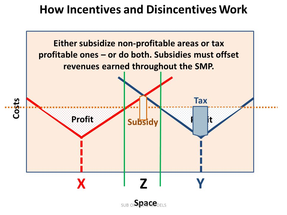 How Incentives and Disincentives Work