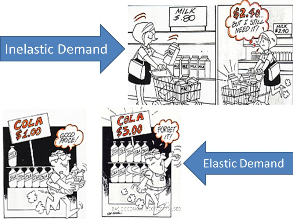 BASIC ECONOMIC CONCEPTS USED