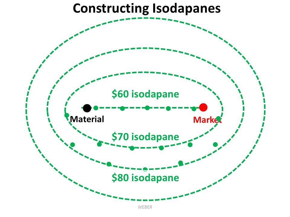 ● ● Constructing Isodapanes $60 isodapane ● ● ● ● ● ● ● $70 isodapane