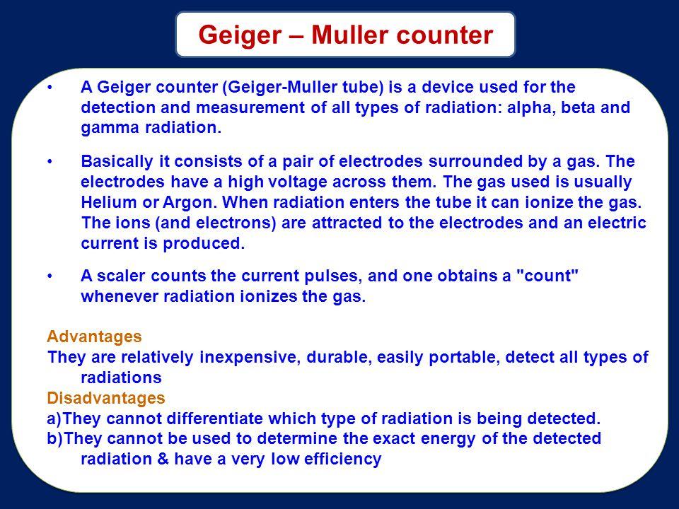 Geiger – Muller counter