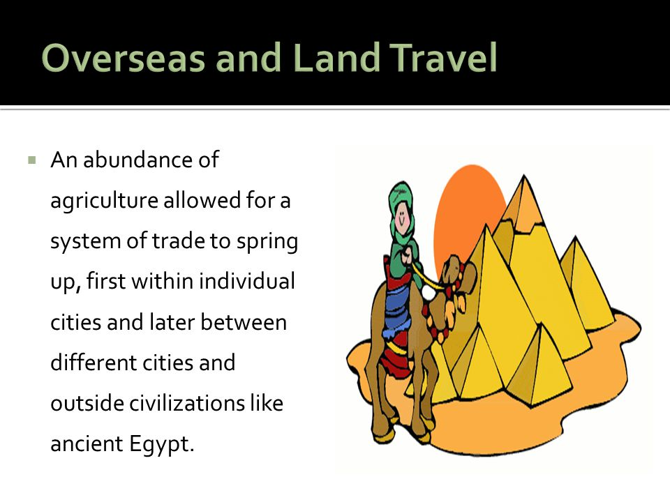 Overseas and Land Travel