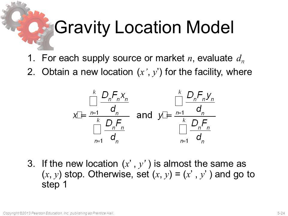 Gravity Location Model