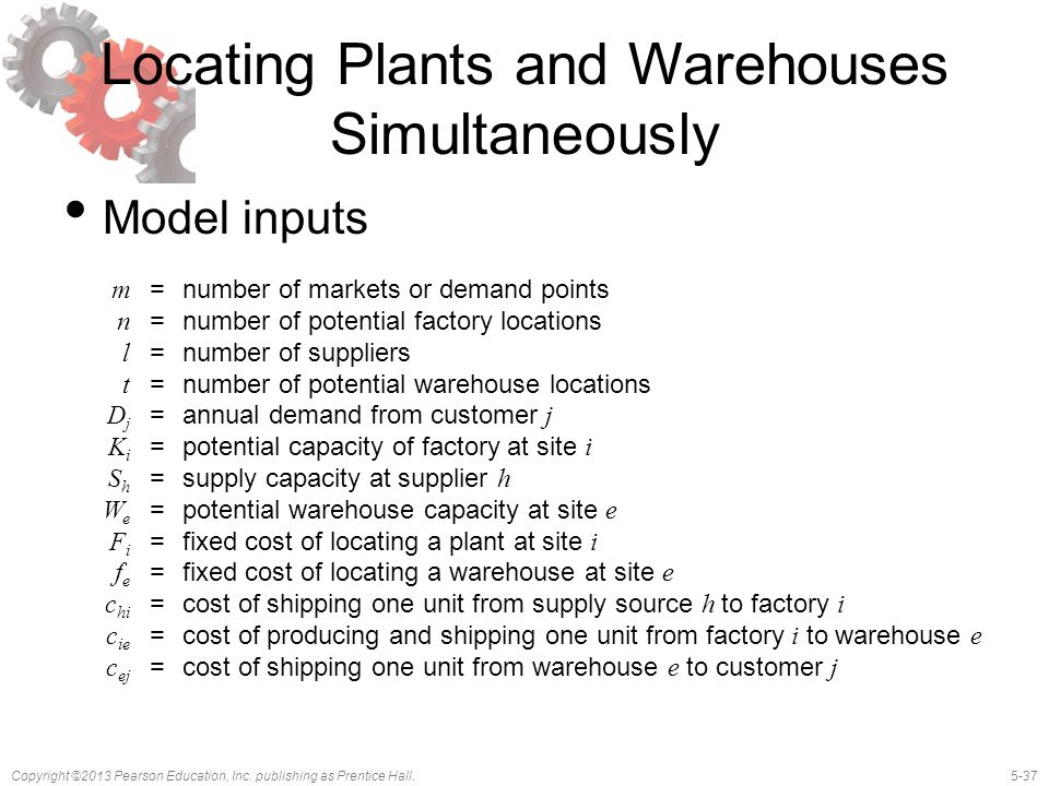 Locating Plants and Warehouses Simultaneously