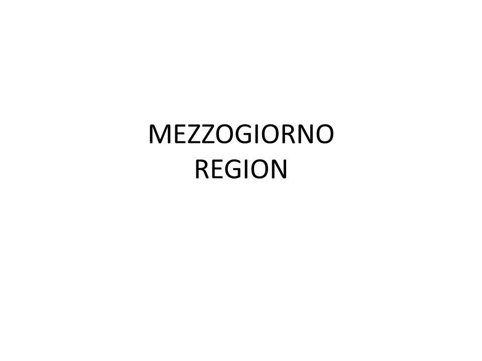 MEZZOGIORNO REGION