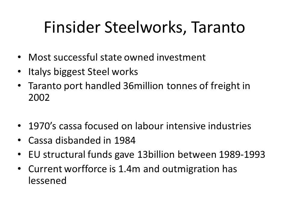 Finsider Steelworks, Taranto