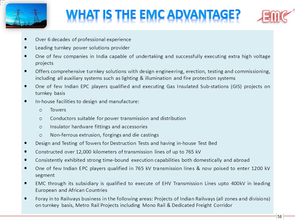 What Is The EMC Advantage