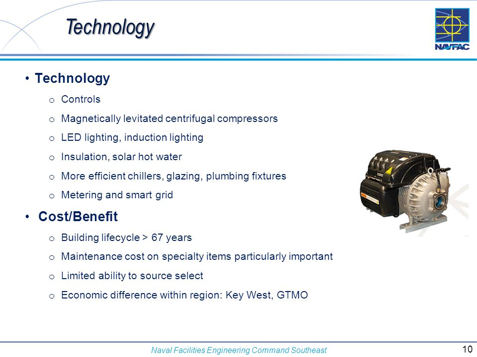 Technology Technology Cost/Benefit Controls