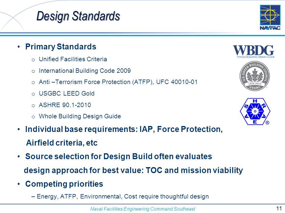 Design Standards Primary Standards
