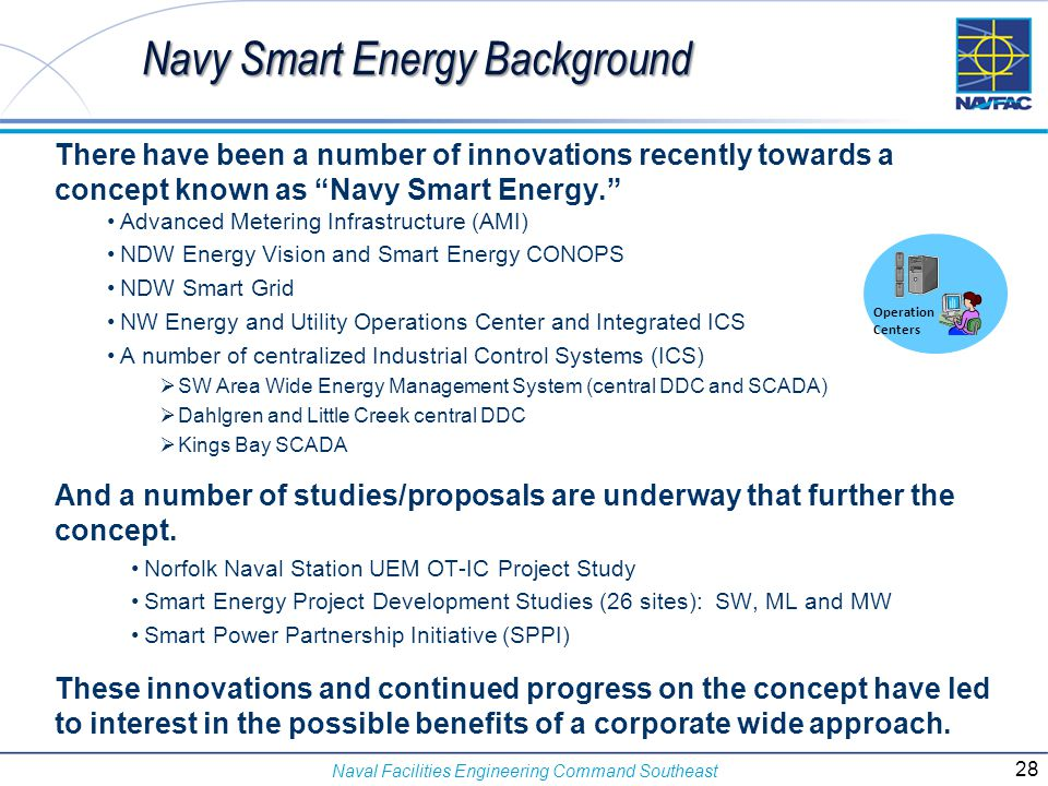 Navy Smart Energy Background