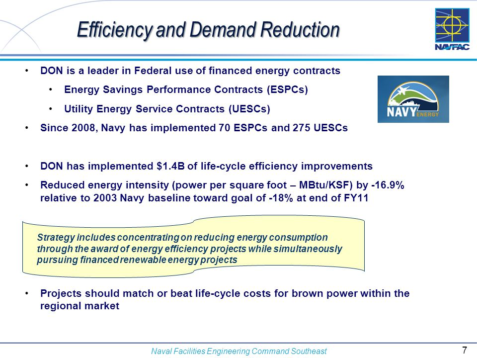 Efficiency and Demand Reduction