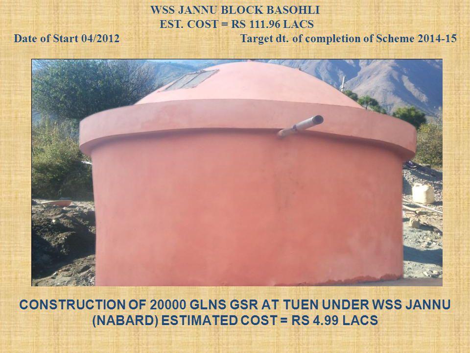 WSS JANNU BLOCK BASOHLI