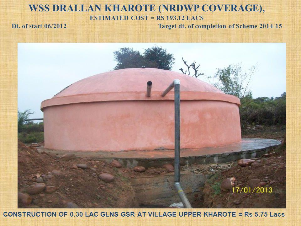 WSS DRALLAN KHAROTE (NRDWP COVERAGE),