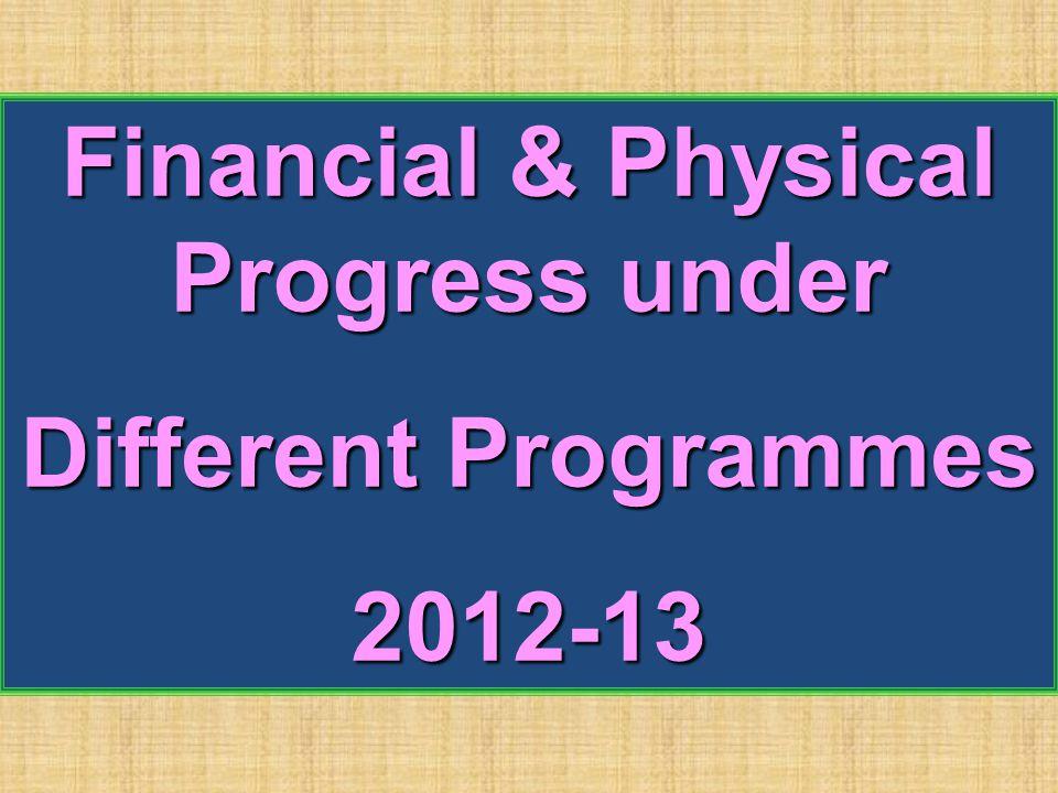Financial & Physical Progress under