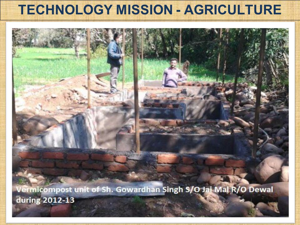 TECHNOLOGY MISSION - AGRICULTURE