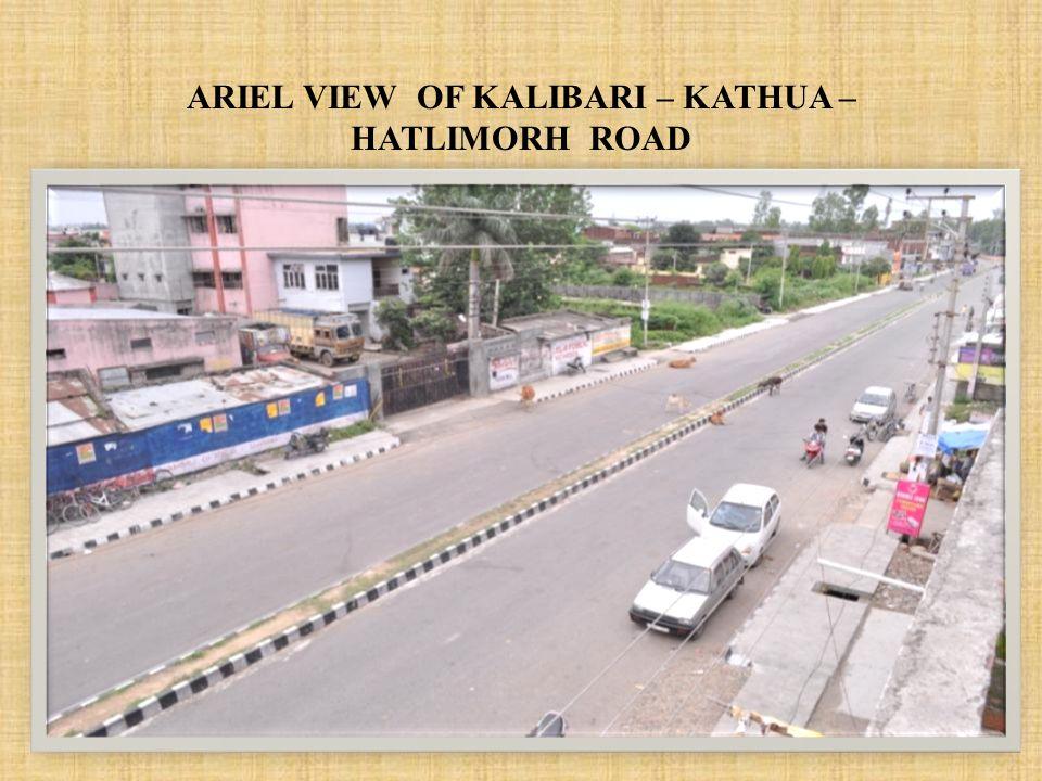 ARIEL VIEW OF KALIBARI – KATHUA – HATLIMORH ROAD